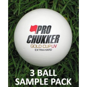Gold Cup UV 3 Ball Sample Pack